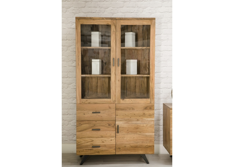 Augusta Display Cabinet 3 doors and 3 drawers