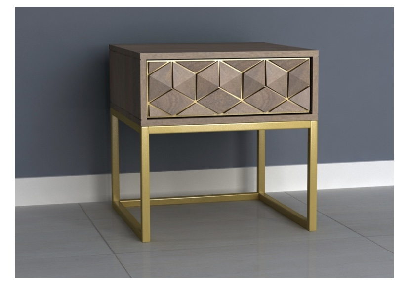 Elyse End Table with Drawer